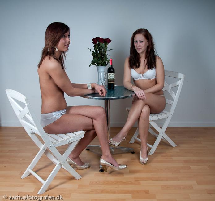 Maria og Trine